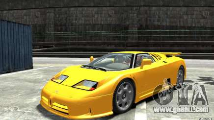 Bugatti EB110 Super Sport for GTA 4