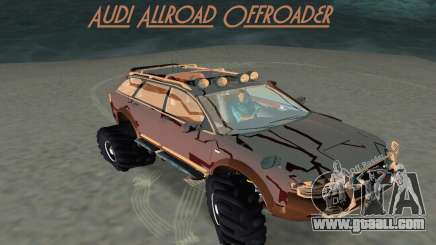 Audi Allroad Offroader for GTA Vice City