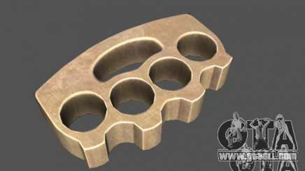[Point Blank] Brass Knuckles for GTA San Andreas