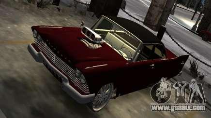 Plymouth Savoy Club Sedan 1957 Dragster Final for GTA 4