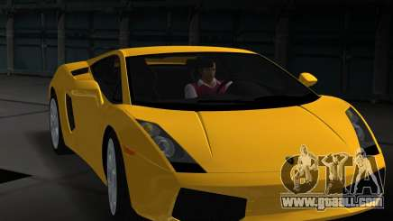 Lamborghini Gallardo for GTA Vice City