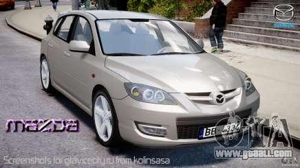 Mazda 3 2004 for GTA 4