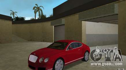 Bentley Continental GT (Final) for GTA Vice City