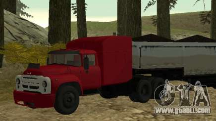 ZIL 130 Tractor for GTA San Andreas