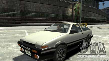 Toyota Sprinter Trueno AE86 for GTA 4