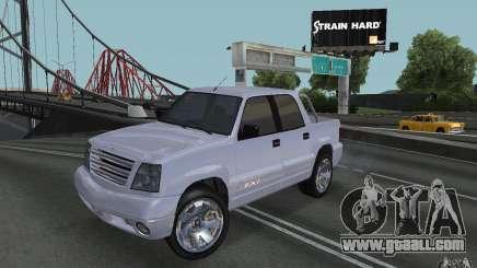 Cavalcade FXT from GTA 4 for GTA San Andreas