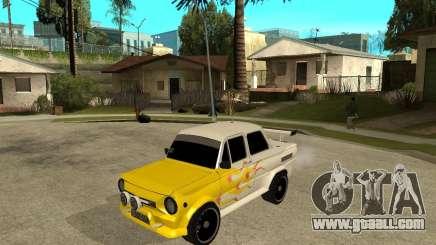 ZAZ 968 m tûningovanyj for GTA San Andreas