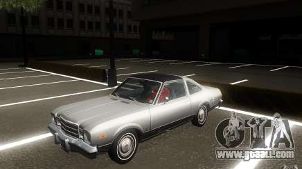 Plymouth Volare Coupe 1977 for GTA San Andreas