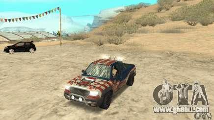 Nevada v1.0 FlatOut 2 for GTA San Andreas