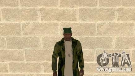 Camouflage jacket for GTA San Andreas