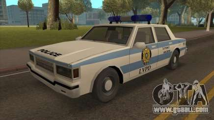 Updated LVPD for GTA San Andreas