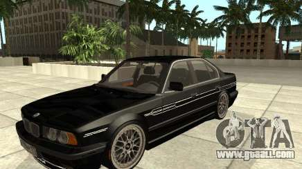 BMW E34 Alpina B10 Bi-Turbo for GTA San Andreas