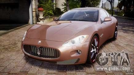 Maserati GranTurismo v1.0 silver for GTA 4