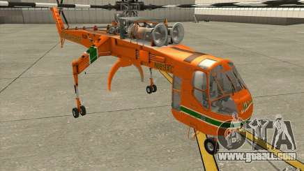Sikorsky Air-Crane S-64E for GTA San Andreas