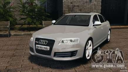 Audi RS6 2010 v1.1 for GTA 4