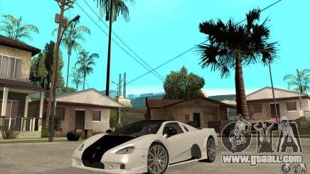 SSC Ultimate Aero FM3 version for GTA San Andreas