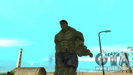 Hulk Skin for GTA San Andreas