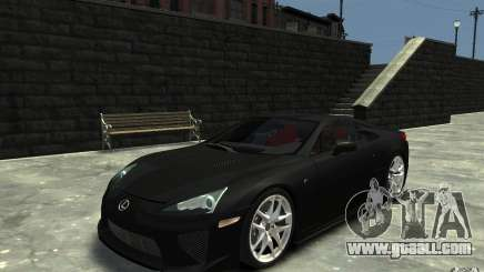 Lexus LFA v1.0 for GTA 4