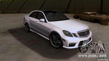 Mercedes-Benz E63 AMG V12 TT Black Revel for GTA San Andreas