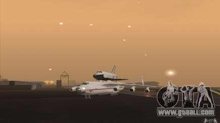 Antonov AN225 for GTA San Andreas