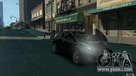 Nissan Leaf 2011 for GTA 4