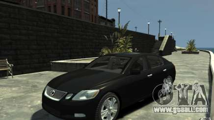 Lexus GS450 2006 for GTA 4