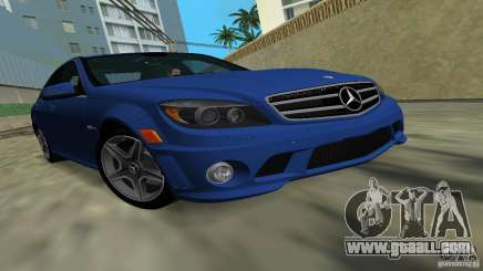 Mercedes-Benz C63 AMG 2010 for GTA Vice City
