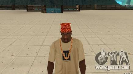 Halloween bandana for GTA San Andreas