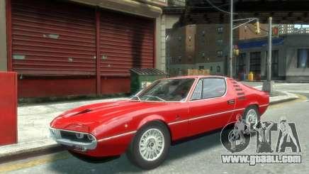 Alfa Romeo Montreal 1970 for GTA 4