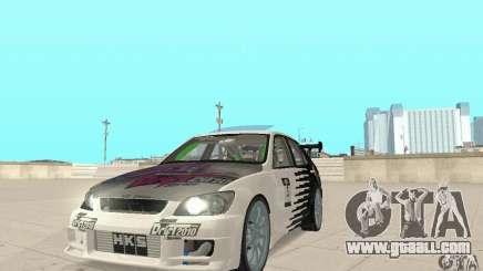 Lexus IS300 Drift Style for GTA San Andreas