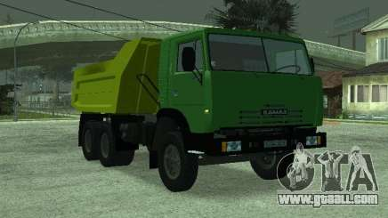 KAMAZ 55112 for GTA San Andreas