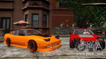 Nissan 240SX Korch for GTA 4