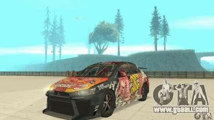 Mitsubishi Lancer EVO Ryo for GTA San Andreas