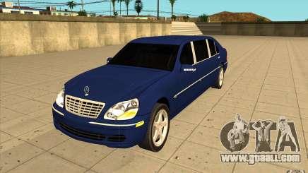 Mercedes-Benz S600 Pullman W220 for GTA San Andreas