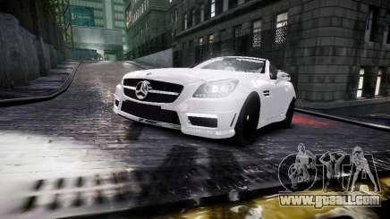 Mercedes SLK 2012 for GTA 4