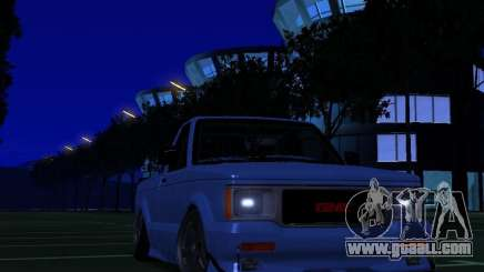 GMC Syclone Drift for GTA San Andreas