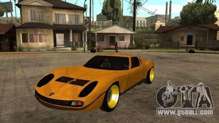 Lamborghini Miura for GTA San Andreas