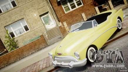 Buick Skylark Convertible 1953 v1.0 for GTA 4