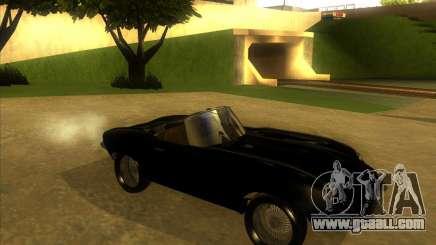 Jaguar E-type 1963 for GTA San Andreas