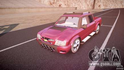 Chevrolet S10 for GTA 4