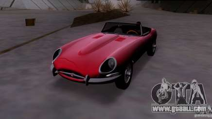 Jaguar E-Type 1966 for GTA San Andreas