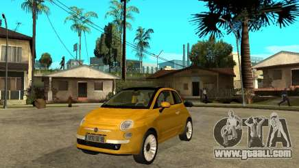 Fiat 500 C for GTA San Andreas