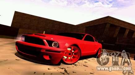 Shelby GT500 KR for GTA San Andreas