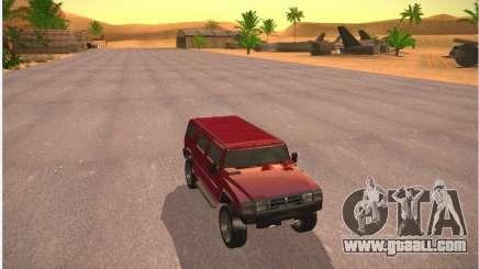 Patriot from GTA 4 for GTA San Andreas
