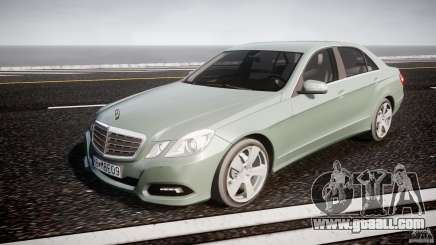 Mercedes-Benz E63 2010 AMG v.1.0 for GTA 4