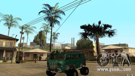 UAZ loaf of hard off-road for GTA San Andreas