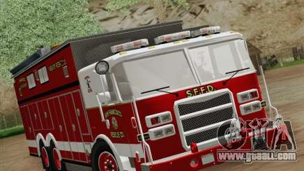 Pierce Walk-in SFFD Heavy Rescue for GTA San Andreas