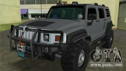 Hummer H3 SUV FBI for GTA Vice City