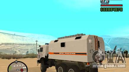 Kamaz MOE for GTA San Andreas