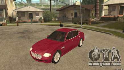 Maserati Quattroporte for GTA San Andreas